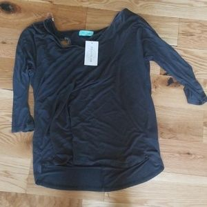 NWT Filly Flair shirt with peekaboo back